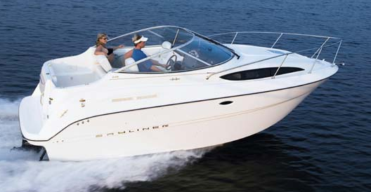 2005 Bayliner 245 Cruiser. A great way to buy Bayliner, Maxum and Trophy ...